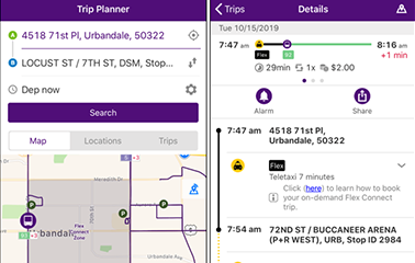 DART Testing Intermodal Trip Planning with New On-Demand Service Pilot