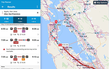 BART Trip Planner Provides Seamless Commute in the Bay Area and Silicon Valley